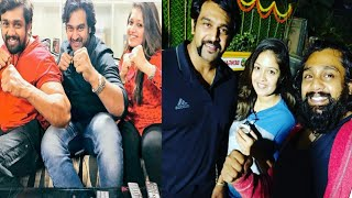How #Meghana Raj Treat #Druva Sarja In Home | Latest Celebrity News | #Chiru Sarja | Love TV Kannada