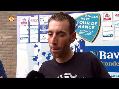 Een gesprek met tourwinnaar Vincenzo Nibali bij de start van de profronde Stiphout