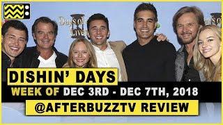 Days Of Our Lives for December 3rd - December 7th, 2018 Review & After Show