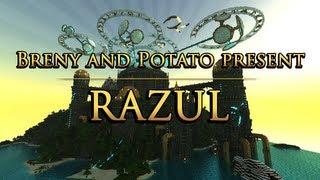 Razul: Episode 4 - Enchanting Wizard Tower! [Minecraft Map]