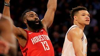 New York Knicks vs Houston Rockets 1st Half Highlights |1/23/2019