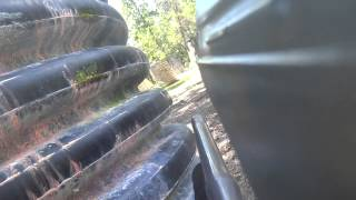 paintball at legends in the woodlands (fort)