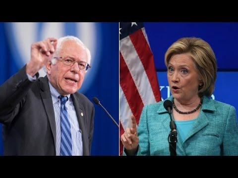 Clinton & Sanders on gun laws, Syria