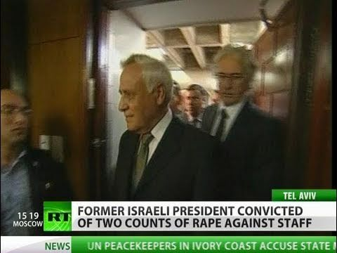 Israel's ex-pres Moshe Katsav guilty of rape