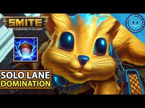 SMITE: SEASON 5 RAT SOLO BUILD! GO NUTS! (SMITE GAMEPLAY)