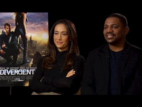 DIVERGENT Interview : Maggie Q and Mekhi Phifer Chat About The Film w/ Tim Estiloz