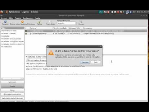 como hacer videos de la pantalla en linux