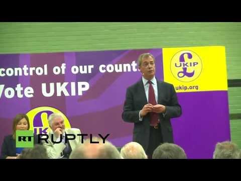 LIVE Farage's last briefing ahead EU elections