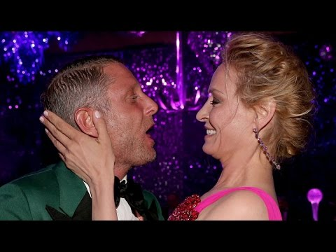 Uma Thurman Caught In Awkward Kiss at Event: 'She Feels Violated'