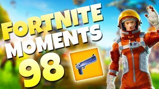 THE NEW HAND CANNON IS INSANE! (DOUBLE PUMP 2.0) | Fortnite Daily Funny and WTF Moments Ep. 98