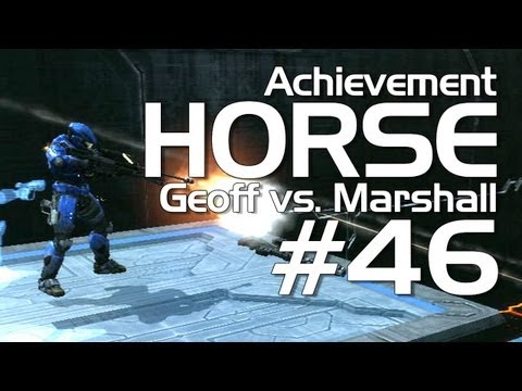 Halo: Reach - Achievement HORSE #46 (Marshall vs. Geoff)