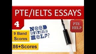 PTE/IELTS Essay Writing 4 | 9 Band- 86+ scores| English as a Global Language, despite globalization|