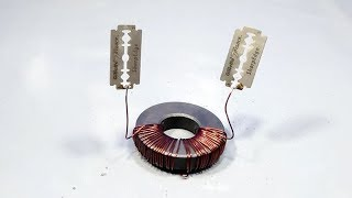 wireless free energy device for 220v light bulb _ science experiment 2019