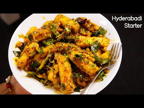 Paneer Majestic Recipe - Restaurant Style Hyderabadi Starter - CookingShooking
