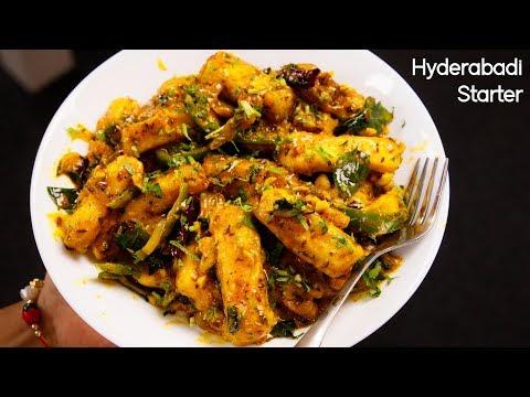 Paneer Majestic Recipe - Restaurant Style Hyderabadi Starter - CookingShooking