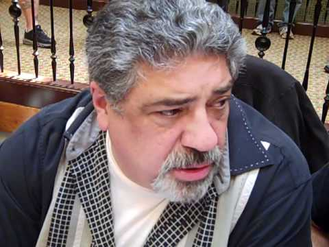 Vincent Pastore big Pussy The Sopranos 2012 Interview video