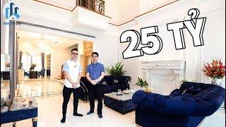 """Trải Nghiệm Biệt Thự """"THÔNG TẦNG"""" tại Vinhomes The Harmony rộng 192m2 trị giá 25 Tỷ Đồng - NhaF [4K]"""