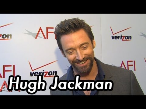 AFI AWARDS 2012 Interview With Hugh Jackman And Tom Hooper Of LES MISERABLES