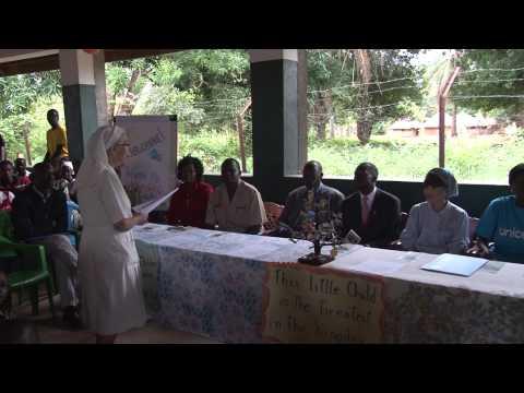 UNICEF's longest serving Goodwill Ambassador Tetsuko Kuroyanagi visits South Sudan