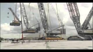 The Biggest Crane in the World: Mega Machine Liebherr