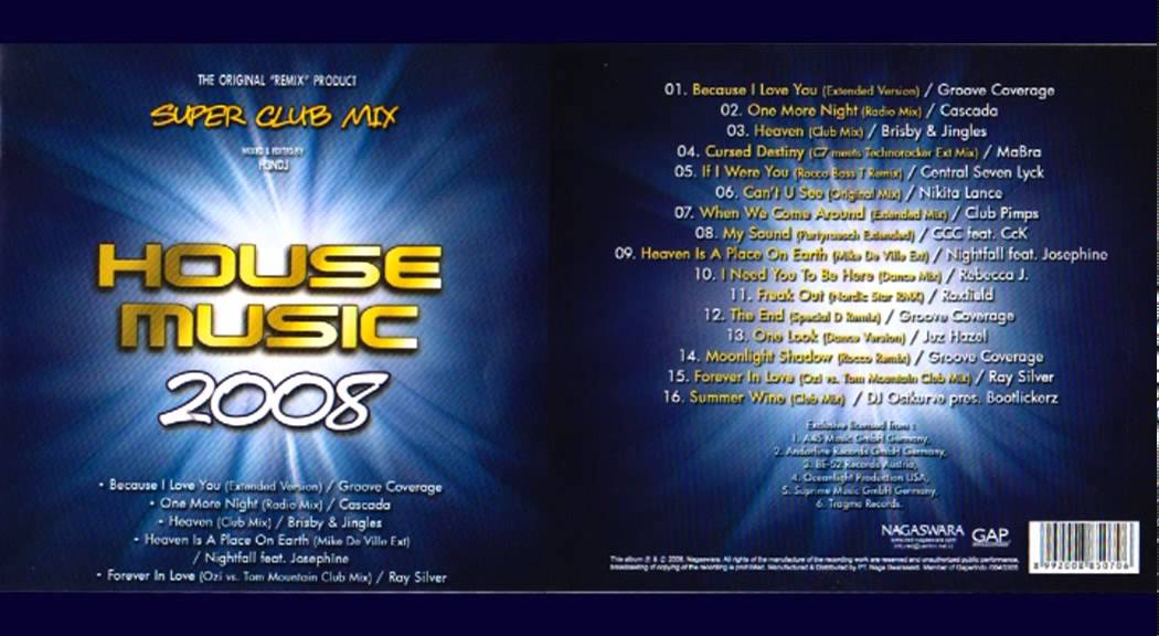 super club mix house music 2008 youtube