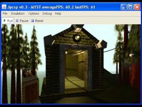 Jpcsp v0.3 rev1230 - Myst - PSP Emulator