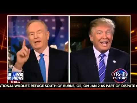 Donald Trump Bill O'Reilly FOX [FULL HD] January 27, 2016 1/27/2016
