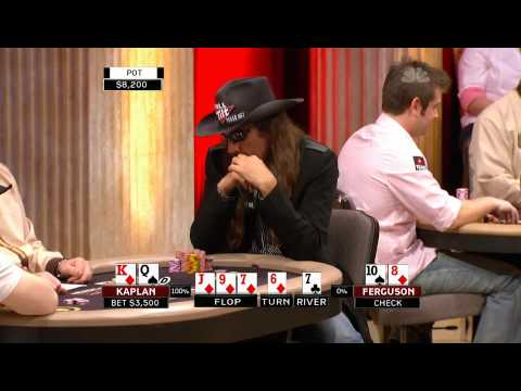 National Heads Up Poker Championship 2009 Episode 2 1/4 Video