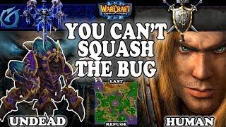 Grubby | Warcraft 3 TFT | 1.30 | UD v HU on Last Refuge - You Can't Squash the Bug