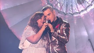The X Factor UK 2018 Scarlett Lee, Robbie Williams Duo Final Live Shows Full Clip S15E27