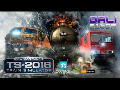 Train Simulator 2016 PC UltraHD 4K Gameplay 2160p