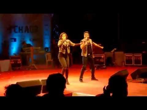 Disco Deewane- Sunidhi Chauhan & Rakesh Maini Live At IIM Ahmedabad