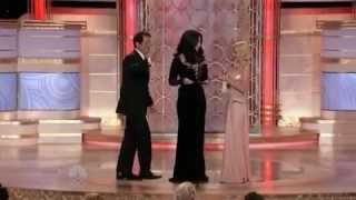 Cher and Christina Aguilera presenting 67th Golden Globes (17.01.2010)