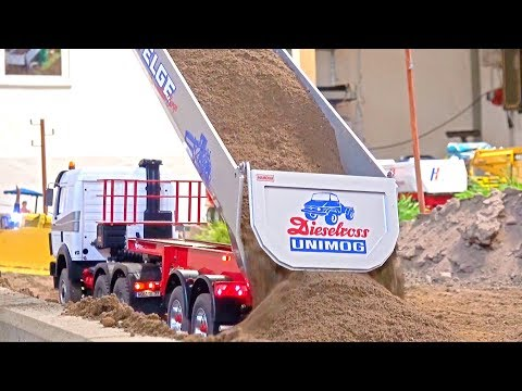 Awesome Rc Truck moments at Stonebreaker-Area! Man!Arocs!Scania