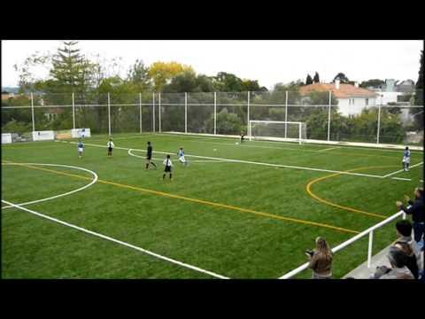 """Belenenses 6 - 1 Alg�s - 9 Anos -  23 Novembro 2013 - AF Lisboa - Juniores """"E1"""""""