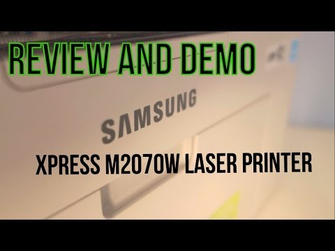 Samsung Xpress M2070W Wireless Laser Printer - Review and Demo - Budget Printing Perfection