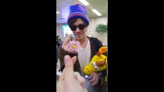 160116 Nate Ruess @ Gimpo Airport @ Korea
