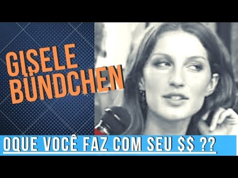 Gisele Bundchen 18-01-1999, entrevista com Francisco Chagas no Over Fashion