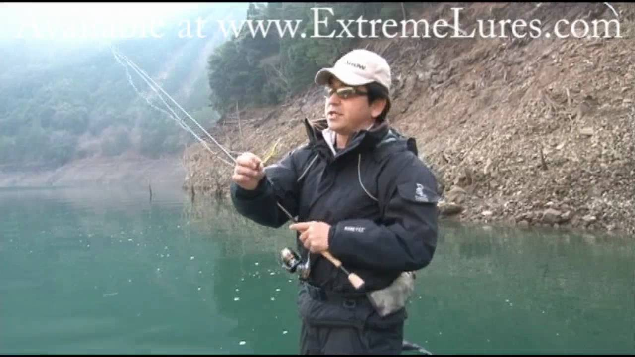 Fish arrow flash j bass fishing lure tips demo video youtube for Fish 2 flirt