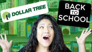 Dollar Tree BACK TO SCHOOL Shop with Me