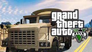 GTA 5 Online: How To Get Cars & Vehicles Out Of The Military Base EASY (GTA V)