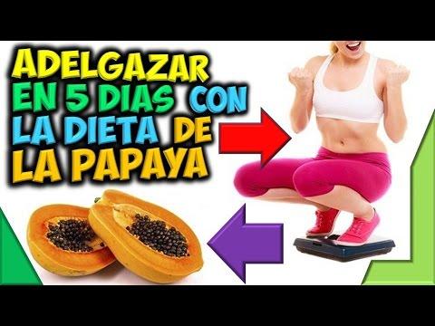 Dieta de la Papaya Para Adelgazar en 5 Días y Perder Peso en Casa