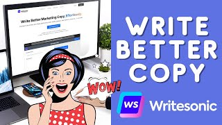 Download lagu Write Better Marketing Copy, Effortlessly [Writesonic Review and Demo]