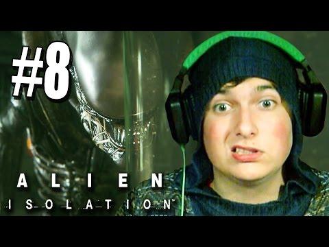 Я НАУЧИЛСЯ ПРЯТАТЬСЯ ОТ ЧУЖОГО! [Alien: Isolation #8]