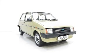 A Remarkable very Early Austin Mini Metro with 4,914 Miles from New - SOLD!