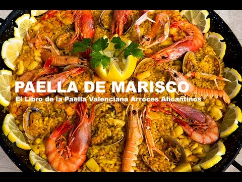 Paella Marisco   Restaurante Vista Ifach Moraira
