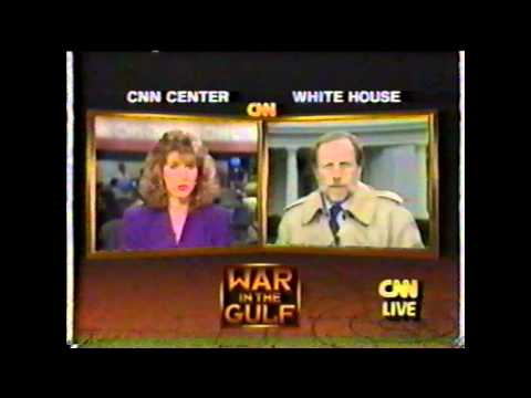 Operation Desert Storm - CNN Live News Coverage - Part 12