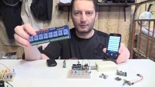 ok Google OFFLINE Голосовое управление Voice control ANDROID Arduino Лайфхак Своими руками