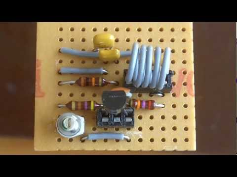 About Radio ... Part 39 One Transistor FM Transmitter