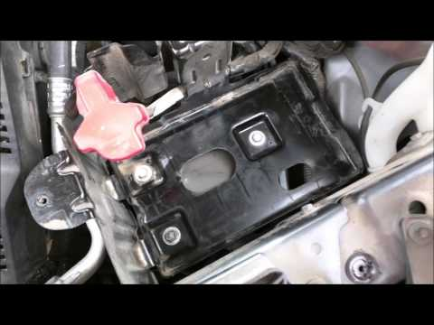 Battery Replacement 2011Chevrolet Equinox